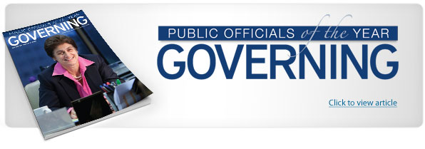 Public Officials of the Year - Governing Magazine
